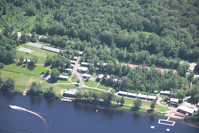 Camp Che-Na-Wah Aerial Map